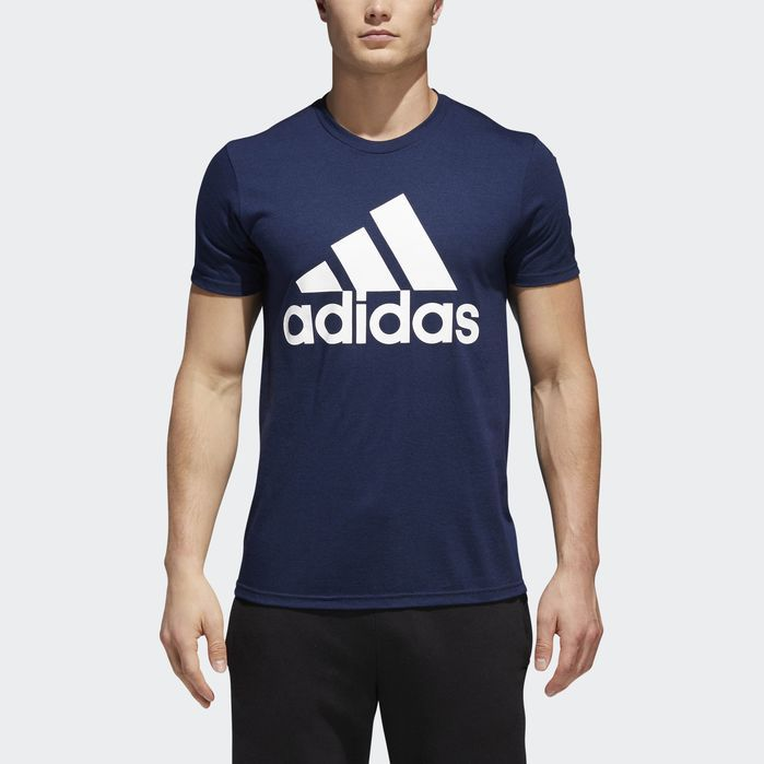 919c460102 Badge of Sport Big and Tall Classic Tee Royal Blue 2XL/TALL Mens ...