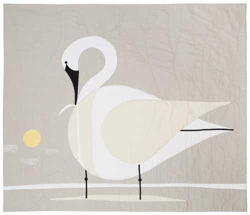 Trumpeter Swan Quilt Kit Keepsake Quilting Птички