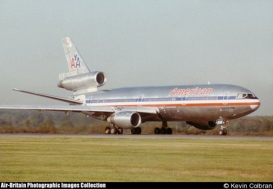 American Airlines Dc 10 Mcdonnell Douglas Dc 10 30