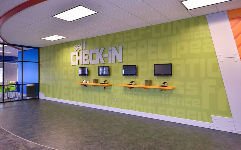 Kids Ministry Check In Station Designs Worship Facilities Magazine