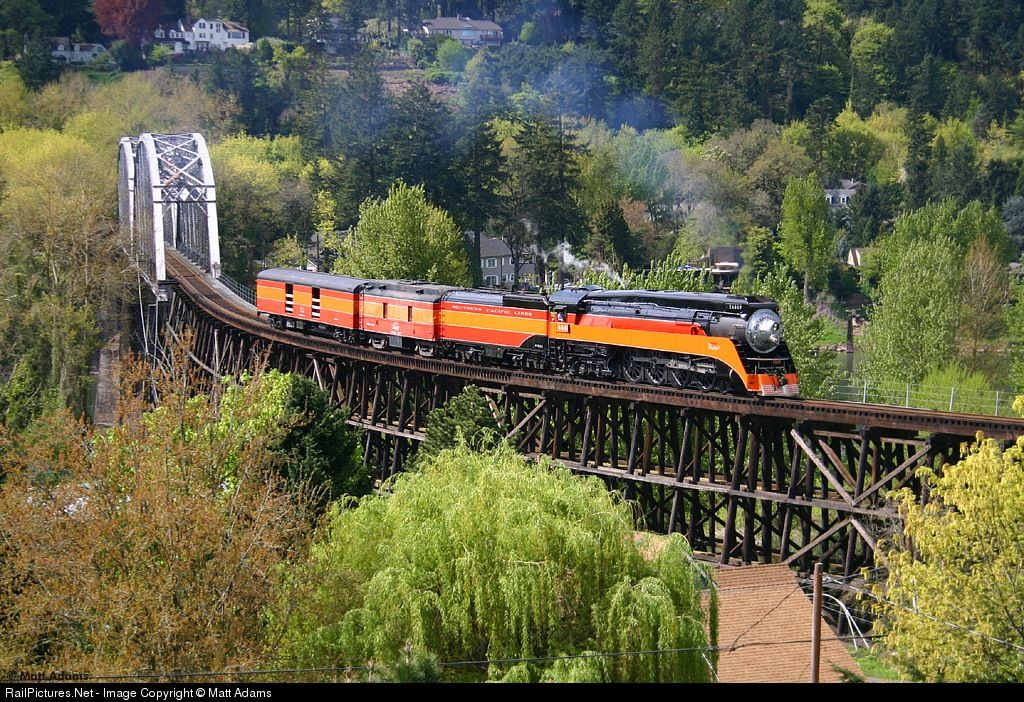 Railpictures net photo sp 4449 southern pacific railroad for Railpictures