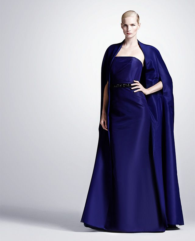 Cool Hue | Color Story: Blue. This is stunning and dramatic. I love it!