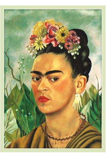Plakat 50 X 70 Cm Frida Kahlo Frida Kahlo Paintings
