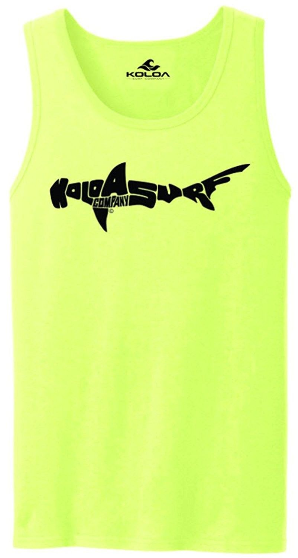 b691d7b48af30 Koloa Surf Hammerhead Shark Logo Tank Tops in 27 Colors. Adult Sizes ...