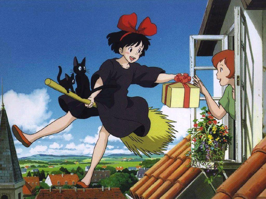 Kiki´s delivery service | ✩ Studio Ghibli ✩ | Pinterest | Studio ...