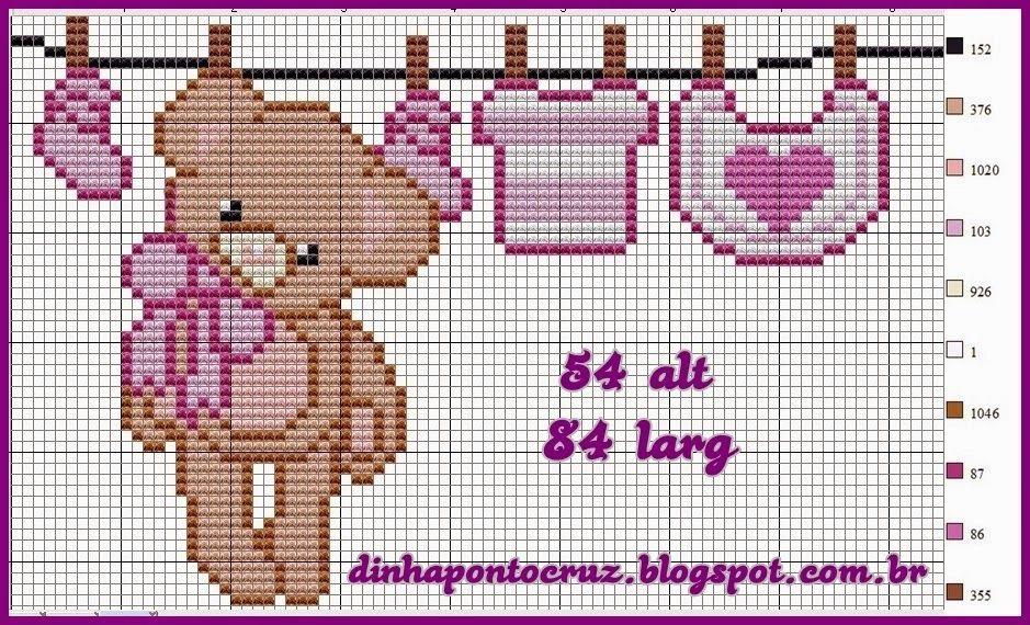 3.jpg (939×570) | ponto cruz | Pinterest | Punto de cruz, Puntos y ...