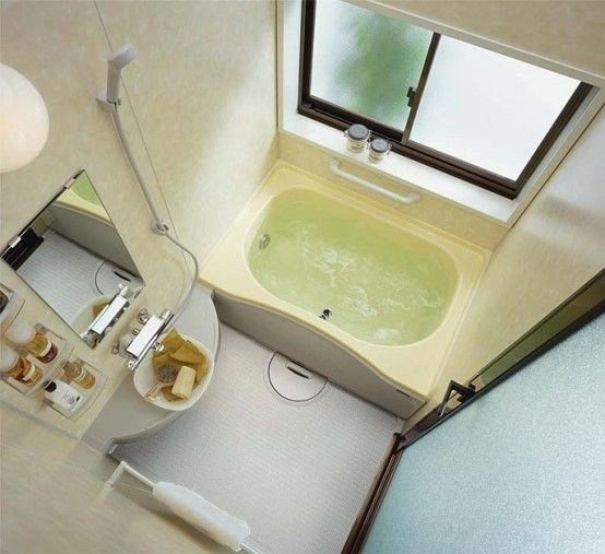 Small Bathroom Japanese Design modern small bathroom layouts from inax | small bathroom layout