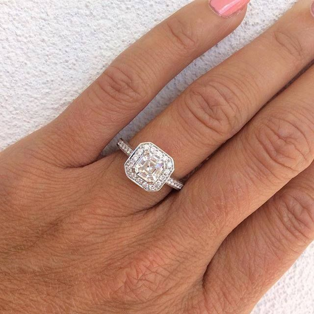 Is A Cushion Cut Diamond Set In A White Gold Halo Your Dream Pc