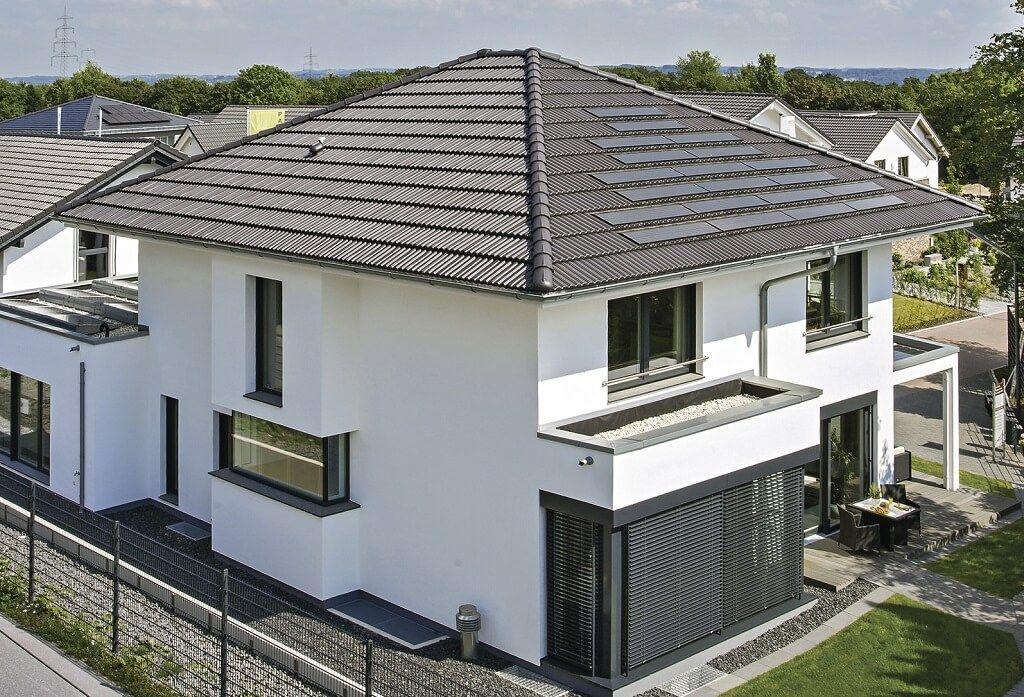 City Life - Haus 250_WeberHaus_Außenansicht-von-oben-Rueckseite - Haus Modern