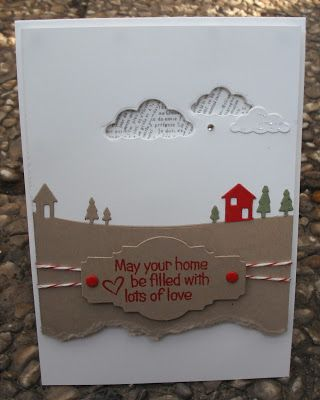 Stempelomis Bastelkeller: may your home...