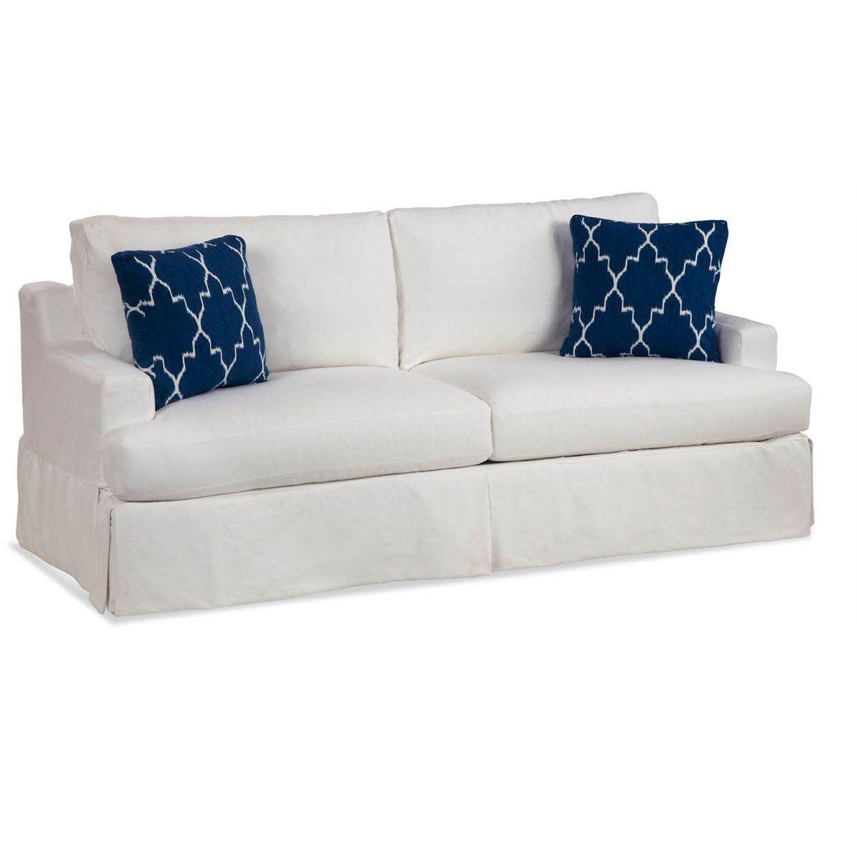 Sausalito Slipcovered Sofa Washable Slipcover Casas
