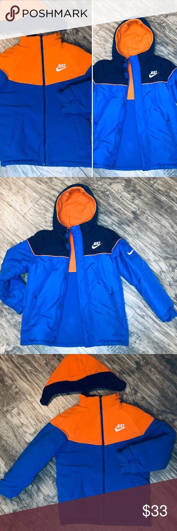 Nike Puffer Jacket Reversible Hooded Size Medium Nike Jacket Nike Winter Jackets Nike Puffer Jacket [ 1740 x 580 Pixel ]