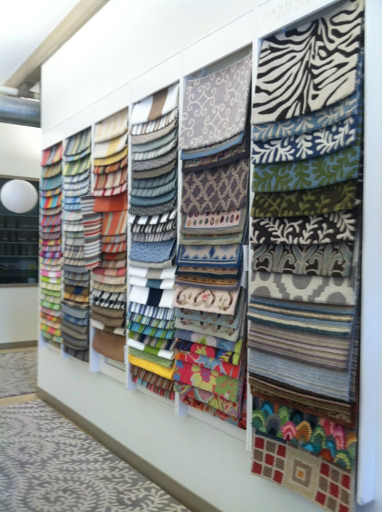 Rug Sample Wall At Annie Selke Laylagrayce Pineconehill