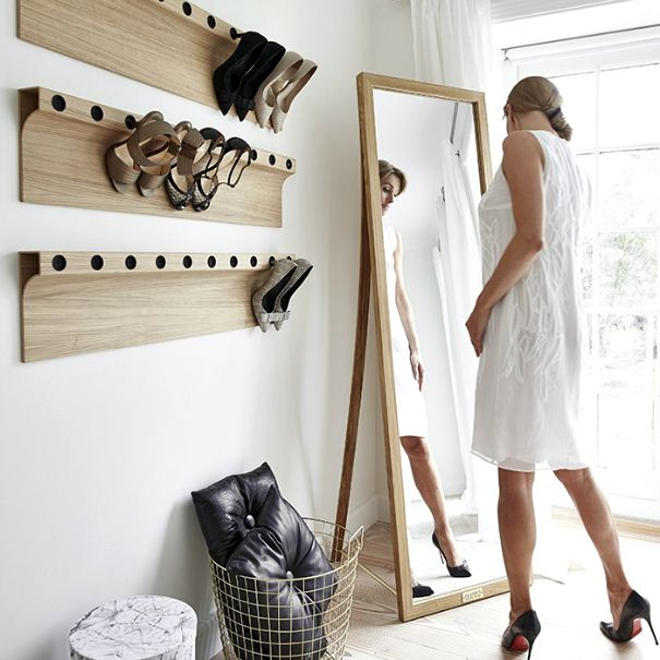 Zapatero pared vestidor ideas deco dormitorio - Zapatero de pared ...