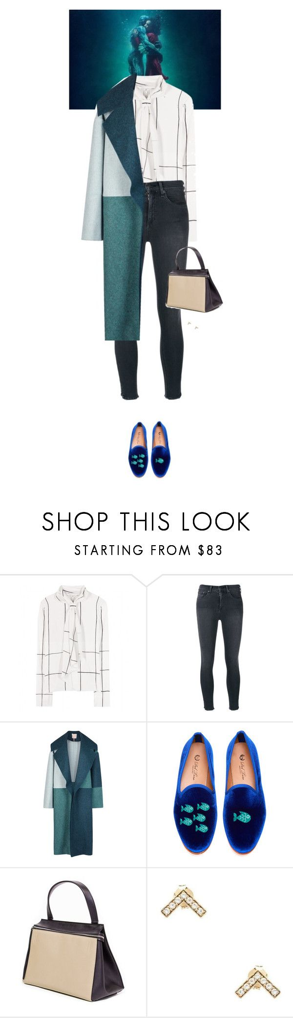 """""""Outfit of the Day"""" by wizmurphy ❤ liked on Polyvore featuring Tory Burch, rag & bone/JEAN, Roksanda, Del Toro, Elizabeth and James, ootd and RoksandaIlincic"""
