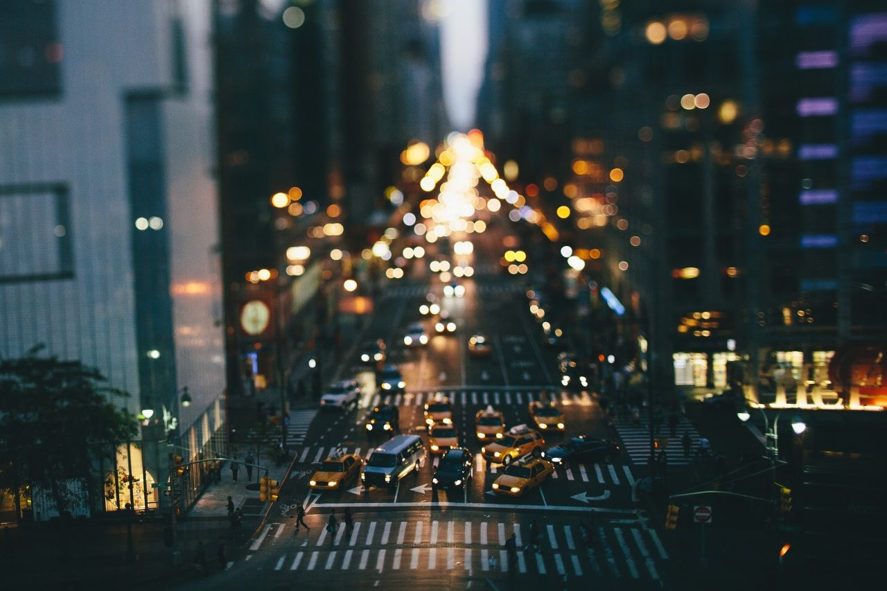 USA Roads New York City Night Street Cities Everything Best Of - Photographer captures the amazing reflections of puddles in new yorks streets