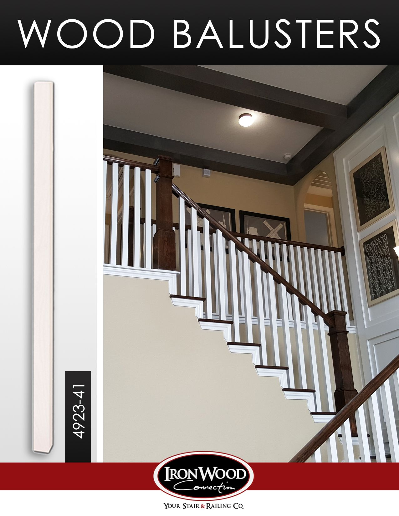 Best Wood Balusters Wood Balusters Staircase Remodel Stair 640 x 480