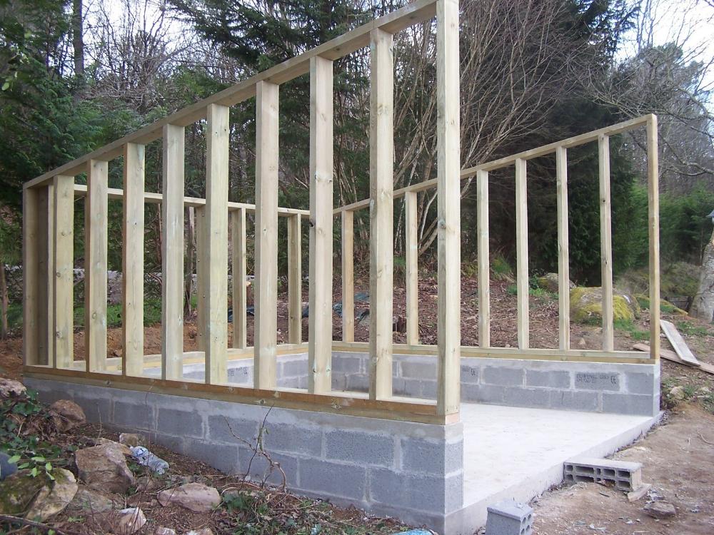 Garage Bois Ou Parpaing Plan Superbe Plans De Creation D Garage Bois Construire Abri Bois Parpaing