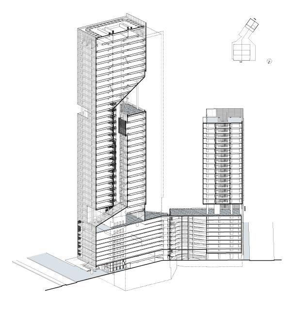 Reforma Towers Mexico City. Richard Meier & Partners