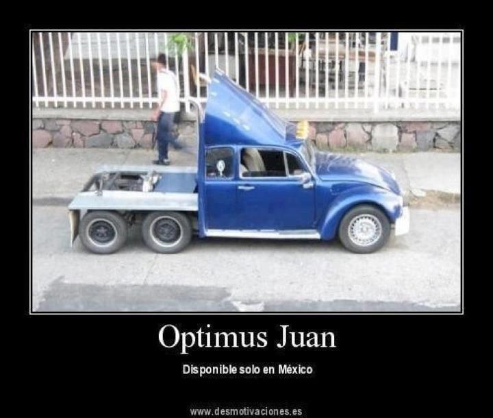 Ingenio mexicano a todo lo q da