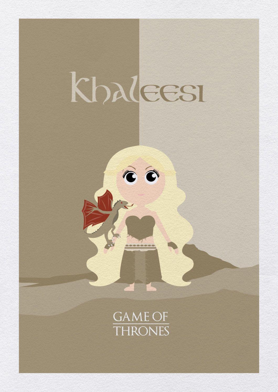 """""""Khaleesi"""" Juego de tronos, Series de libros, Cancion de"""