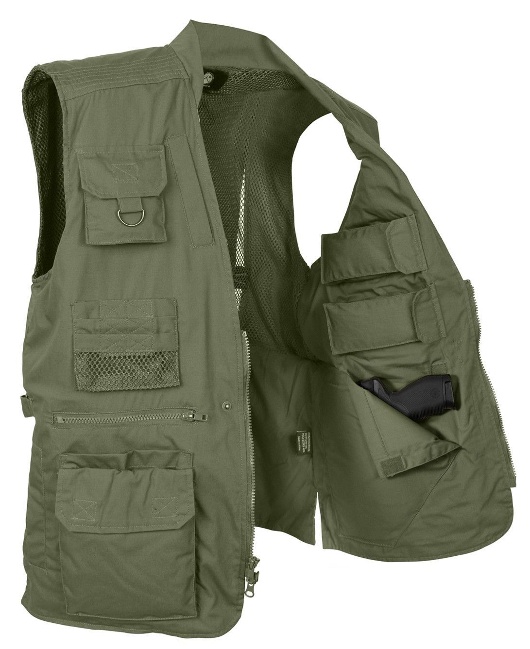 6105640f6f91b Plainclothes Concealed Carry Vest. Plainclothes Concealed Carry Vest  Tactical Clothing ...