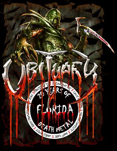 Obituary 20 Years Banner Band Thrash Metal Hard Rock Music Posters
