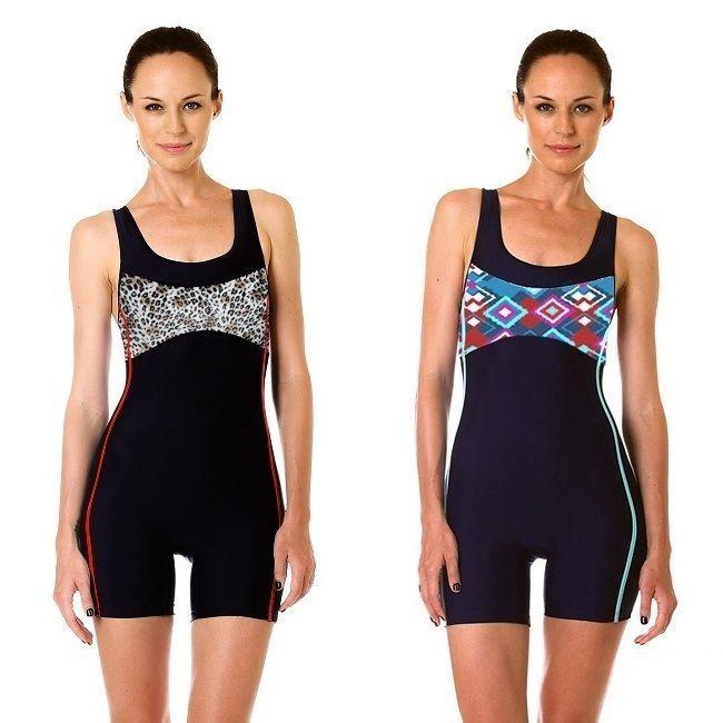 13e6a06c6121a Ladies One Piece Swimsuit Women Jumpsuit Swimwear Boy Shorts Bathing Suit  Modest #Padilla #BoyShorts