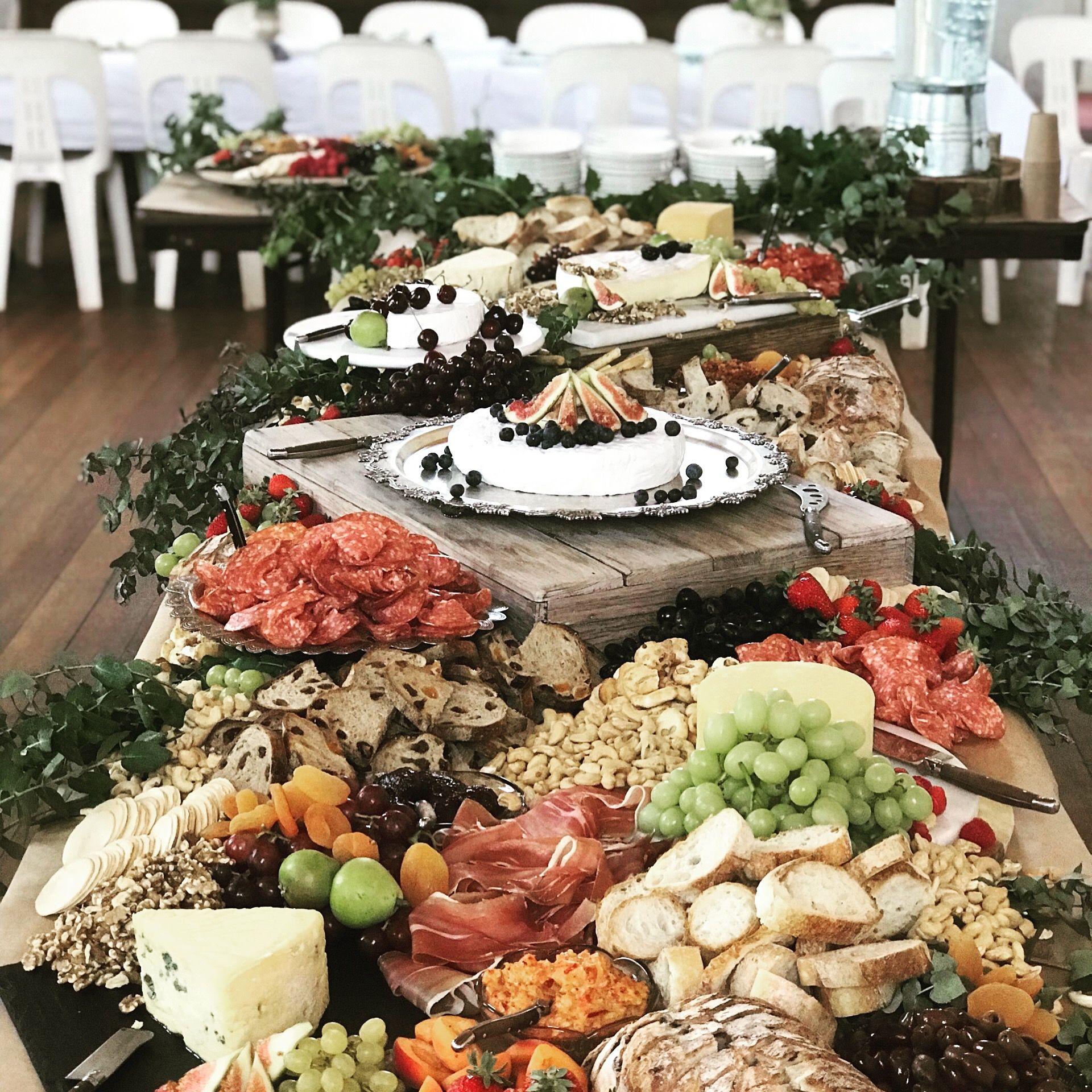 Wedding Cheese Board Grazing Table Food Presentation Food