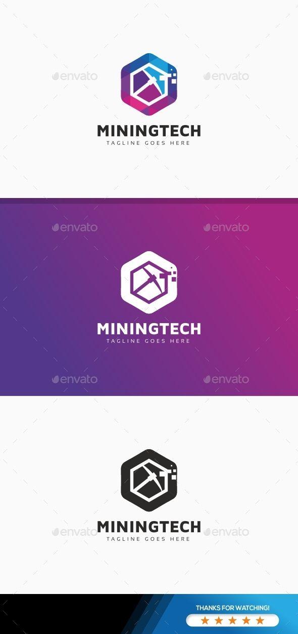 bitcoin crypto mining tech logo pinterest ai illustrator logo