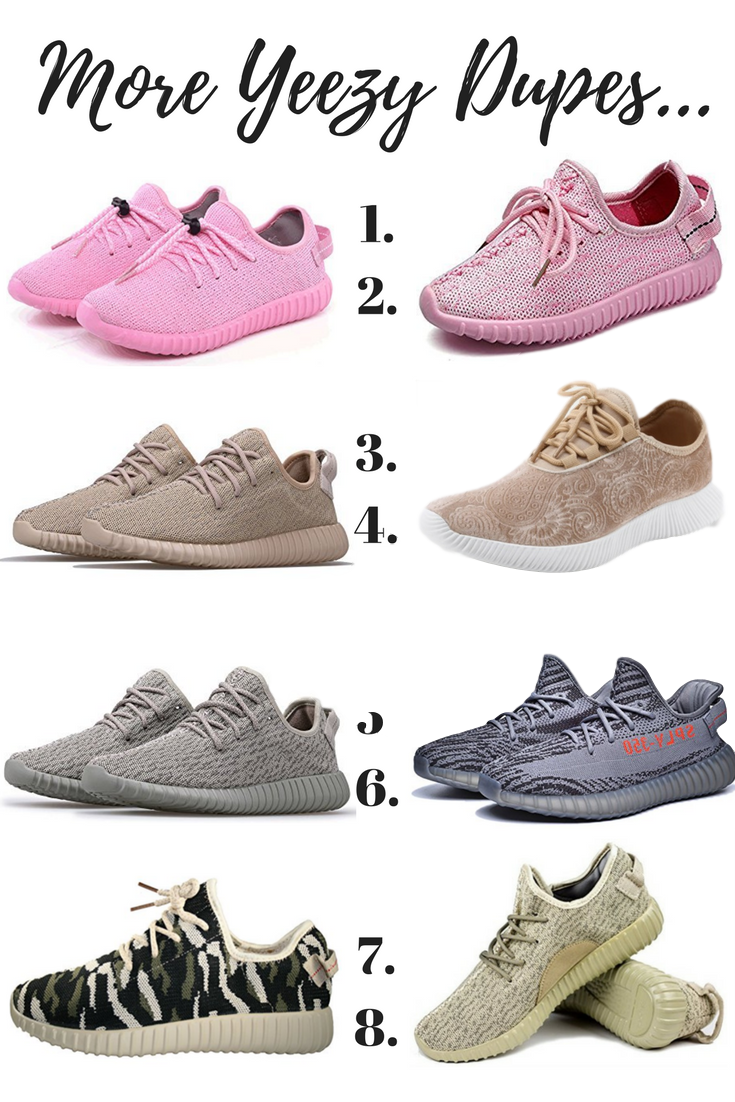 df098ee92a5 Yeezy Dupes - The Ultimate Guide To Yeezy Look-Alikes Under  75 ...