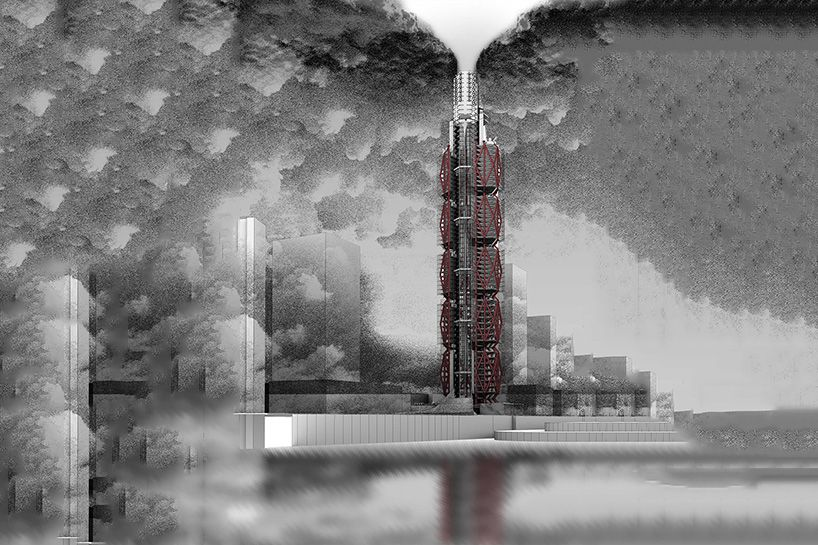 Clean Air Tower By Alexander Balchin Removes The Toxins From China Skyscraper Clean Air Tower