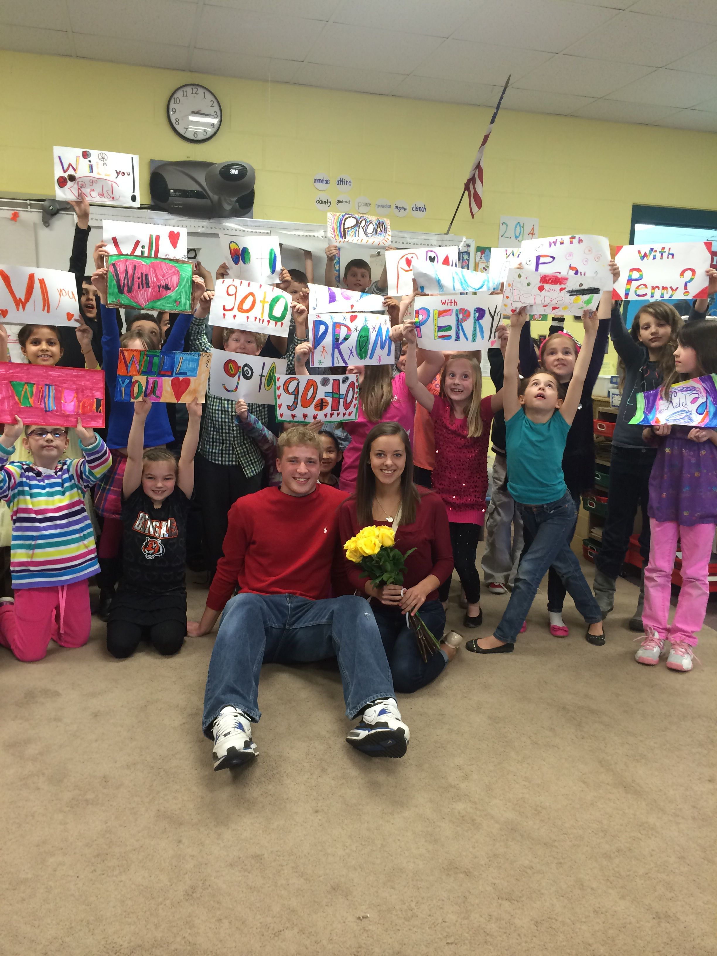 Perry let my second graders ask for him!