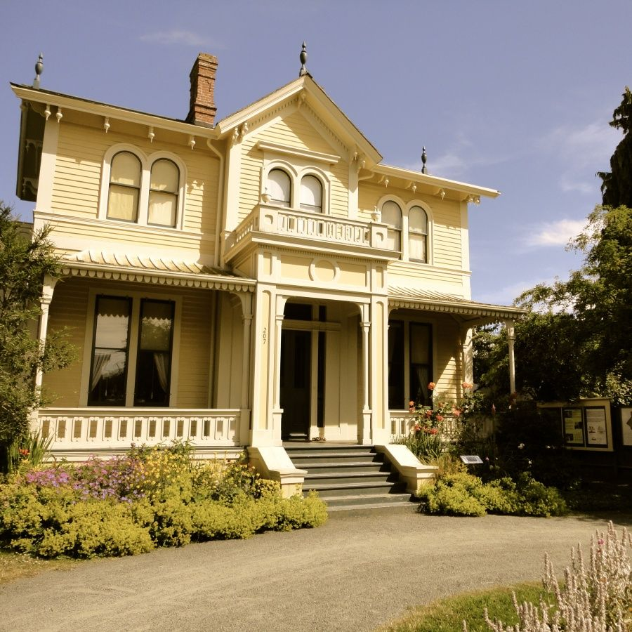 Emily Carr House In Victoria, BC