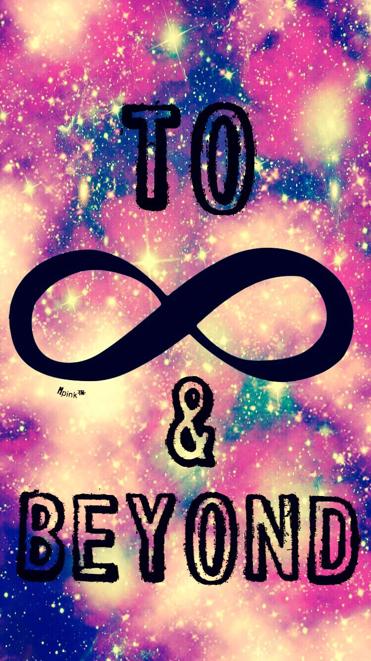 To Infinity & Beyond iPhone/Android Wallpaper I Created For The App Top Chart