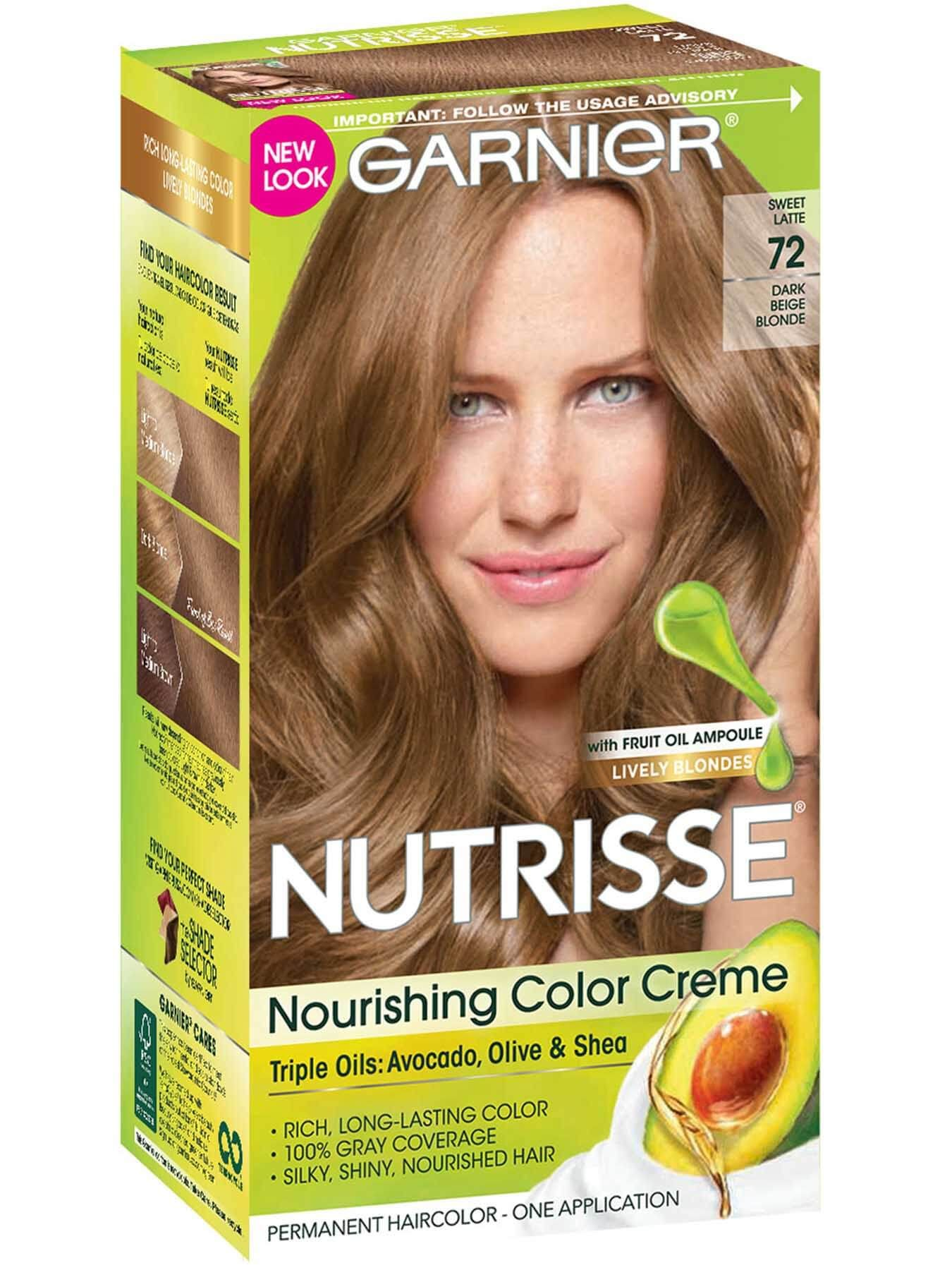 Dark Beige Blonde 72 Sweet Latte In 2020 Garnier Hair Color