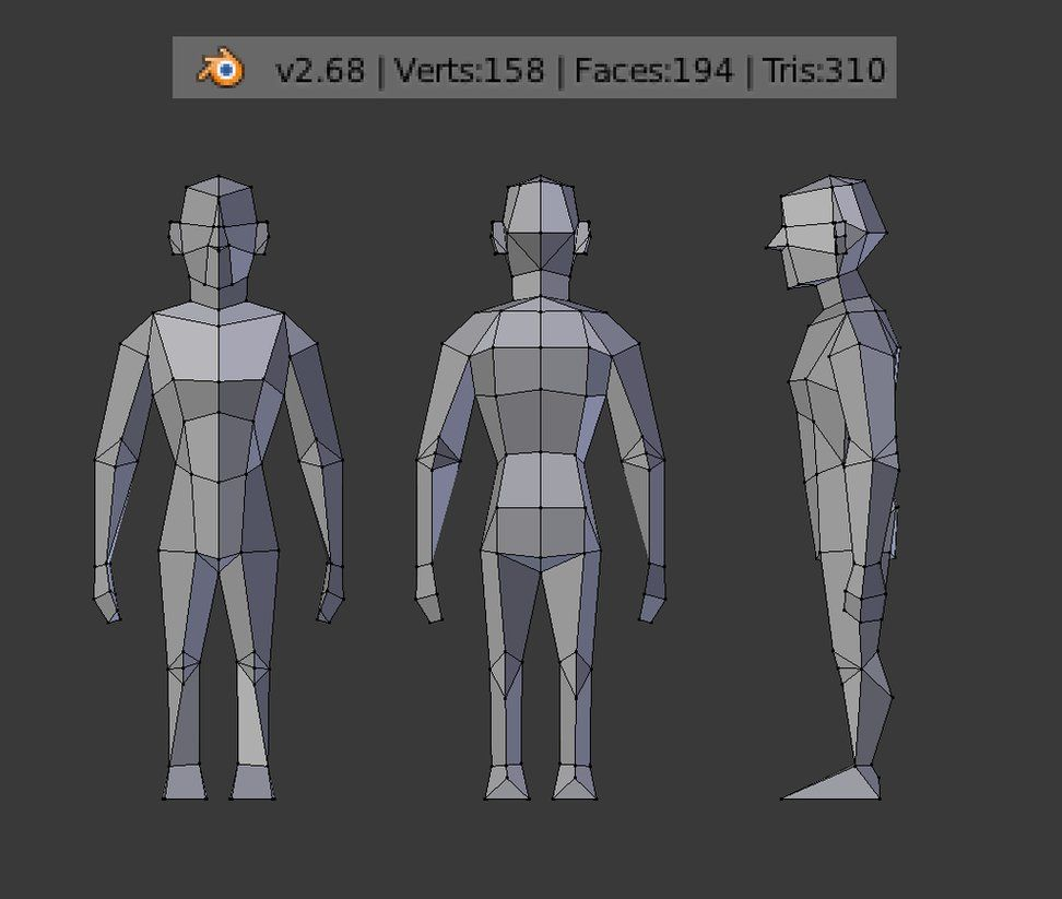 LOWPOLY (sub 1000~ triangle models) - Page 516 - Polycount Forum  Tutoriales diseño ...