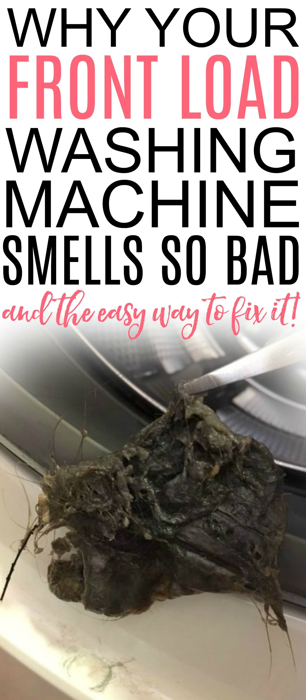Front Load Washer Cleaning #cleaning