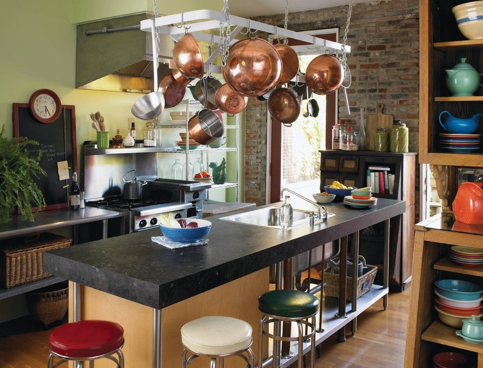 Precision Countertops Kitchen Remodeling Ideas Boise Accent Wall Bakers Rack Barstools Bold Colors Breakfast Bar
