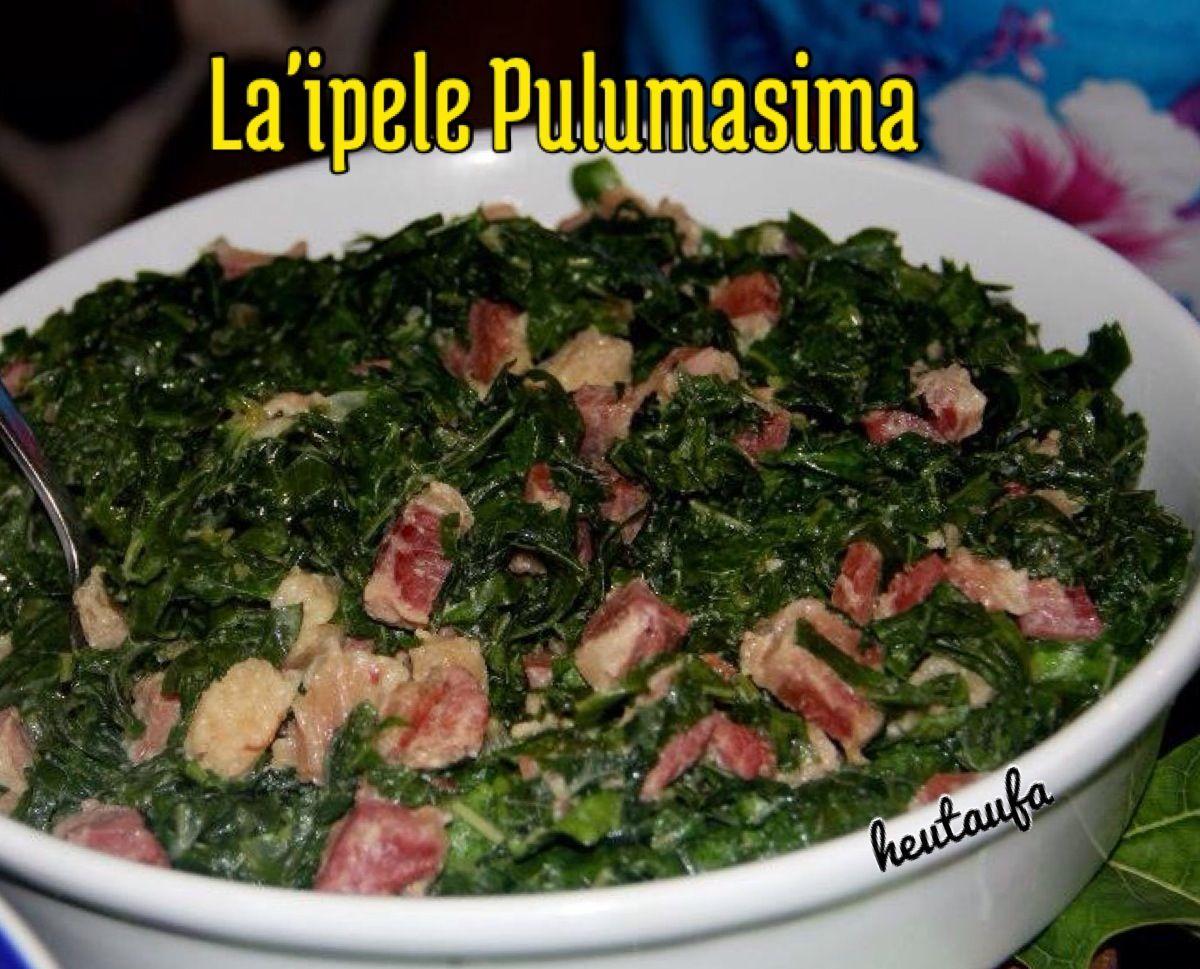 Laipele Pulumasima Tongan Food Pacific Island Food Polynesian