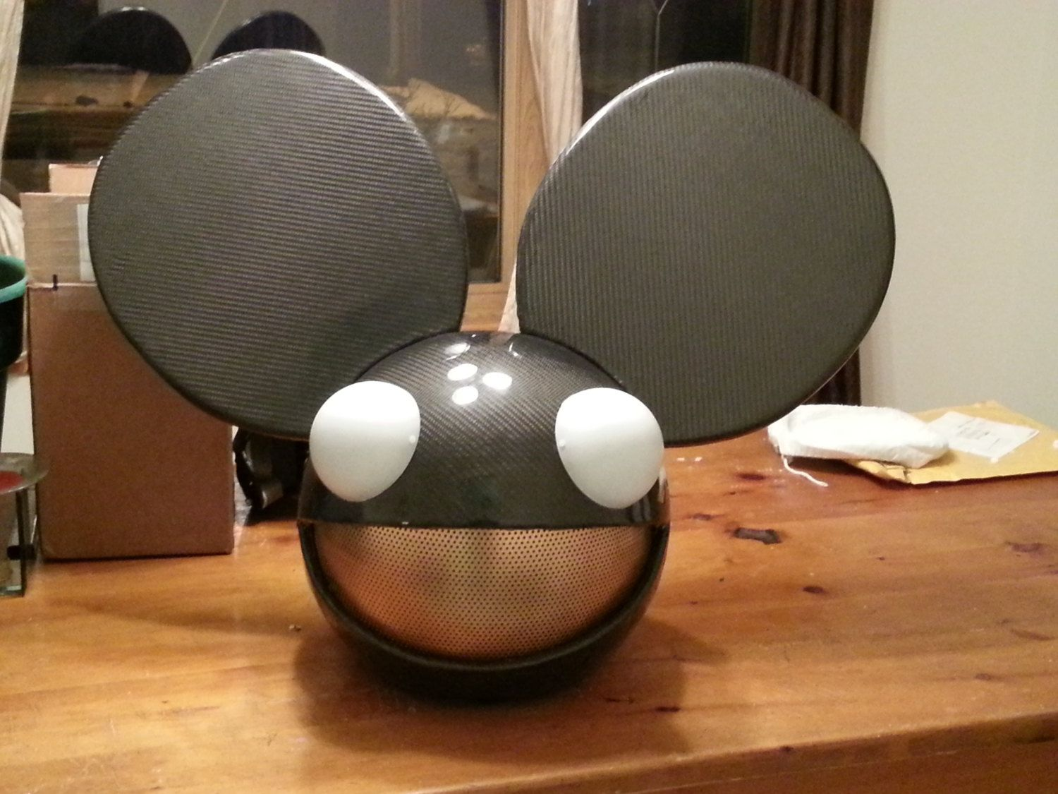Carbon Fiber Deadmau5 Head Replica Hand Made By Legacyprops 1 075 00 Deadmau5 Head Carbon Fiber Carbon