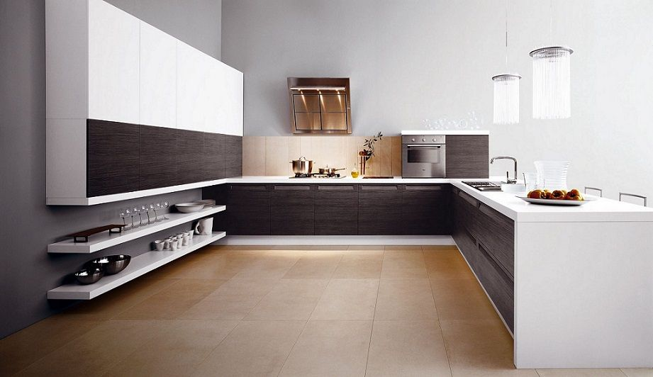 Luxurious Contemporary Italian Kitchen Design Ipc450  Modern Enchanting Modern Big Kitchen Design Ideas Inspiration Design