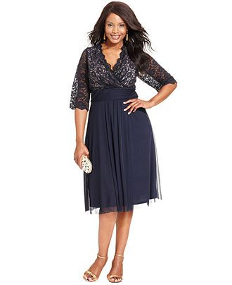 6f8ce7dbc8d Jessica Howard Plus Size Dress