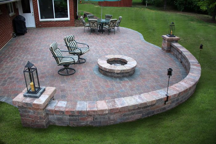 Hardscape Design Ideas that will be ideal solutions landscape solutions that will fit your budget and look good call us today for your free landscape design consultation Hardscape Pavers Hardscaping Hardscape Ideas Hardscape Ideas Pinterest Photo Galleries The Dinner And Dinner Table