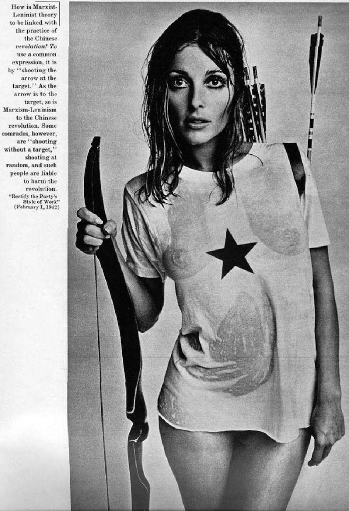 Sharon Tate esquire magazine mao 1967