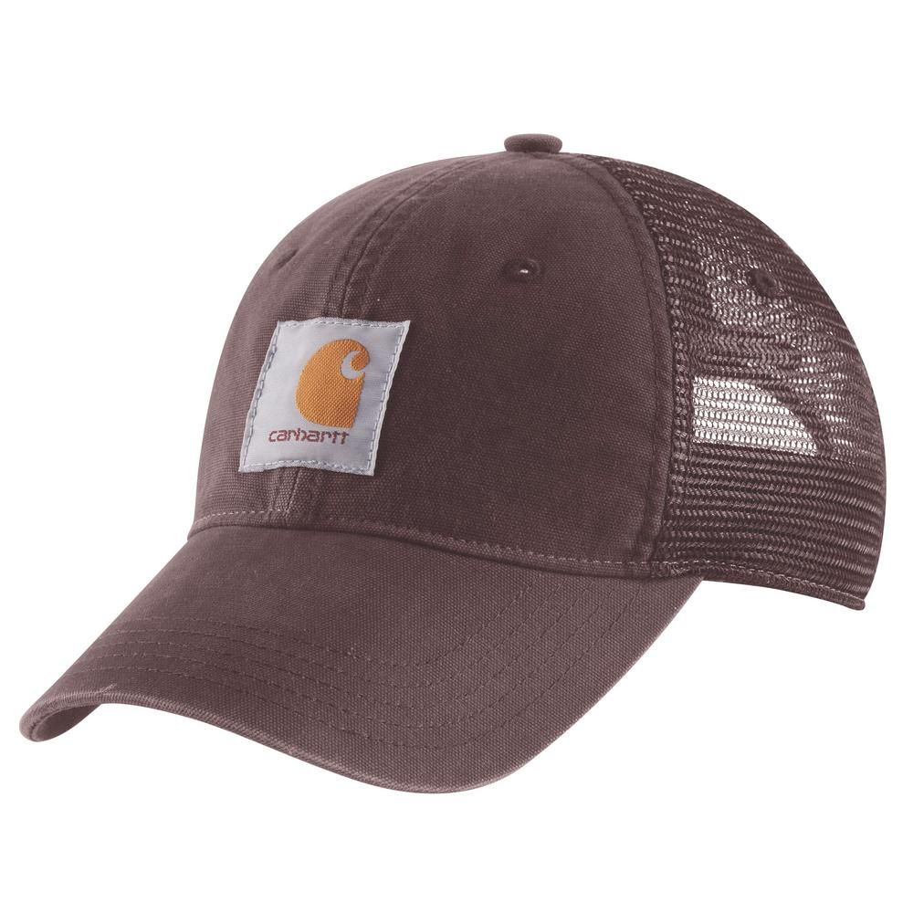 Carhartt Women S Ofa Deep Wine Cotton Buffalo Cap Carhartt Women Carhartt Caps For Women