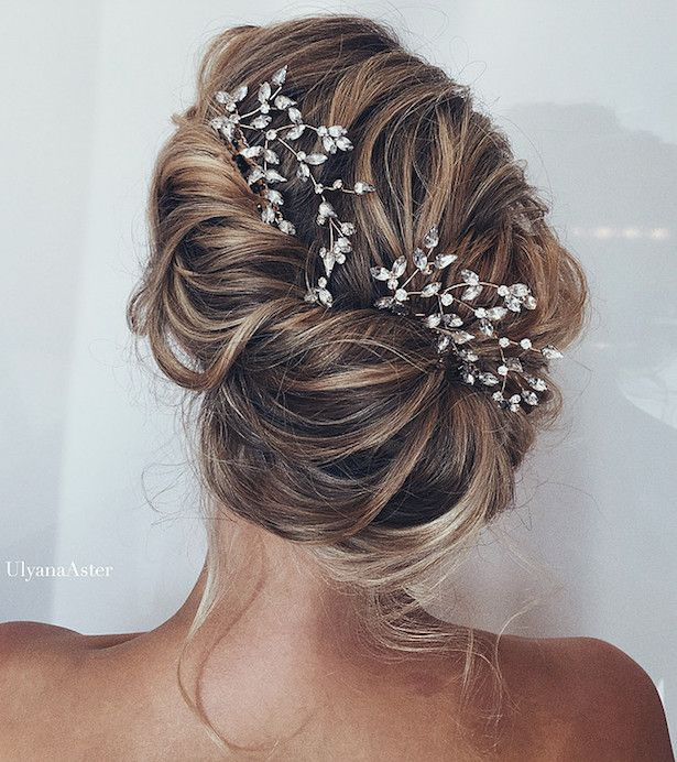 Beautiful Bridal Updos for your Summer Wedding - Belle The Magazine