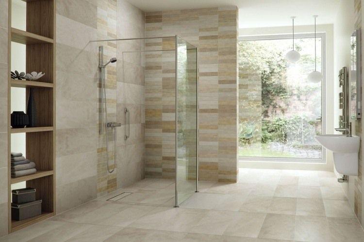 Douche à Lu0027italienne Encastrable Dans 50 Salles De Bains Modernes