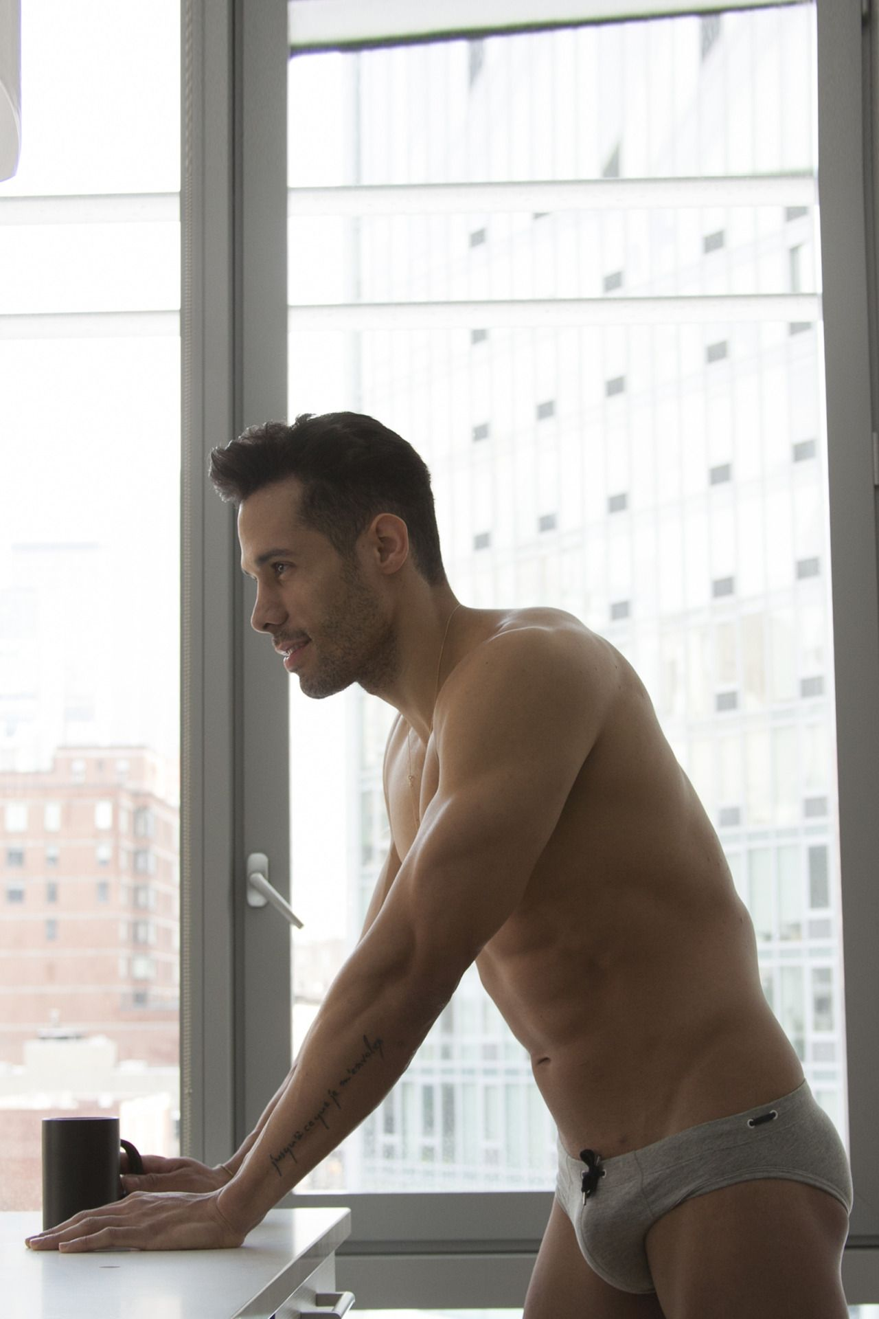 Marco by Sean Gomes Men's Briefs, Slip, Cum Shots, Male Body, Sexy
