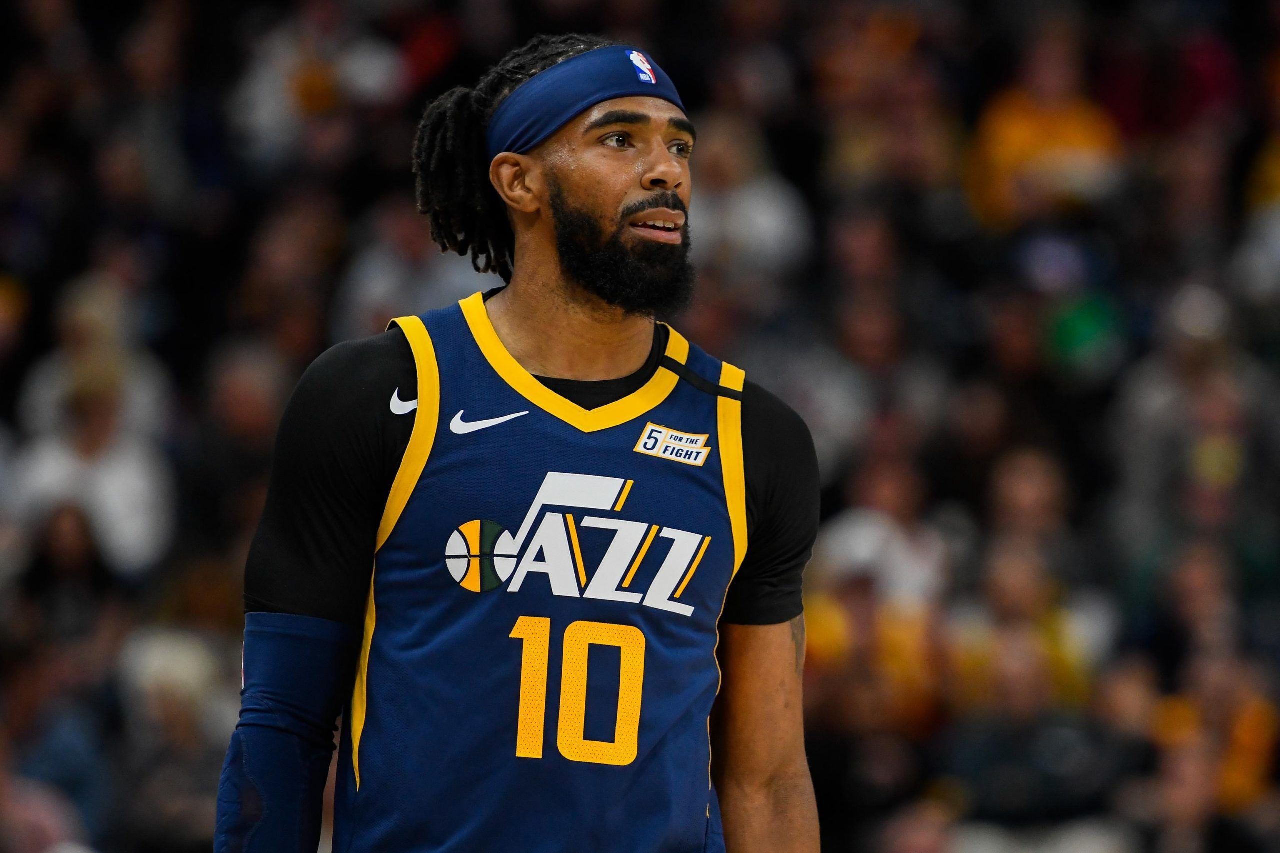 Mike Conley On Utah Jazz Fans Obviously Some Of The Best Fans In The World National Basketball Association News Mike Conley Utah Jazz Nba News